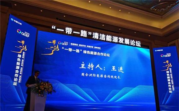 """中国新能源企业应成为""""一带一路""""先行官!"""