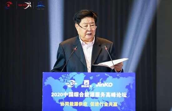 2020年中国综合能源服务高峰论坛上,李子彬出席并发表演讲