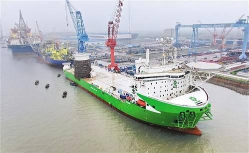 中集来福士将建造全球最大风电安装船
