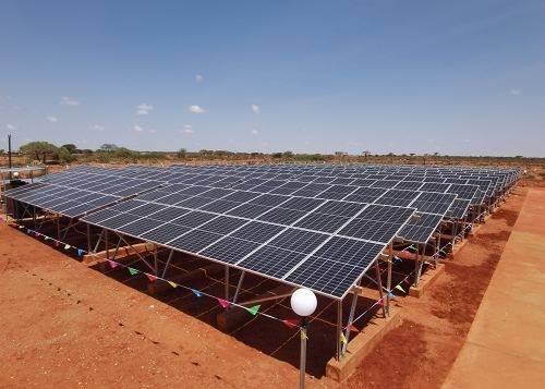 中国电建河北工程企业承建的埃塞俄比亚光伏电站项目竣工