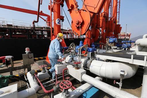 全国首单跨港区供油业务顺利完成