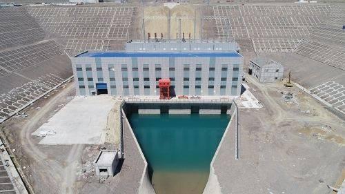 世界最大明钢管气垫式电站,亚曼苏水电站4台机组全部投产发电