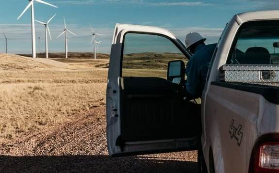 风力发电在德克萨斯州的电力结构中占越来越大的比重