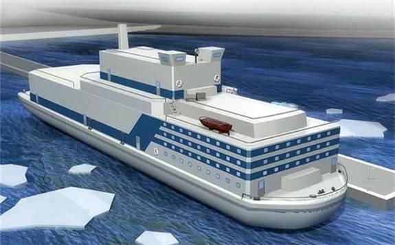 韩国计划建造浮动核电站