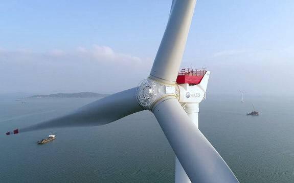 明阳智能 发布2款全球最大的半直驱海上风电机组