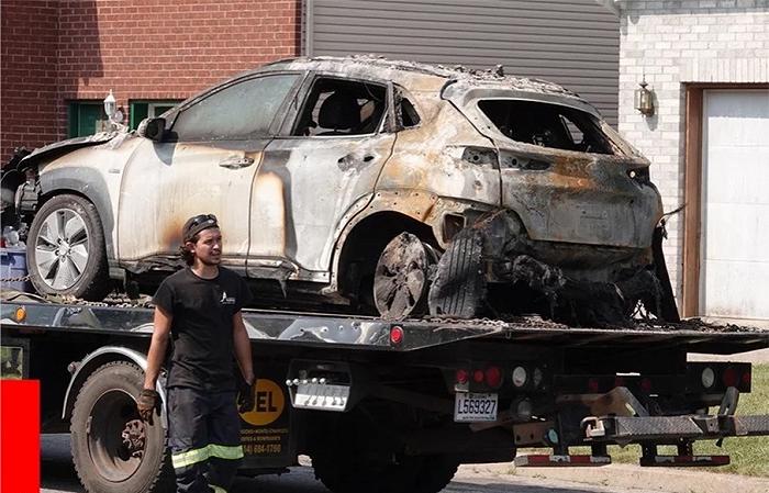 事故频发!韩国现代纯电动汽车KONA连续两起充电起火事故!