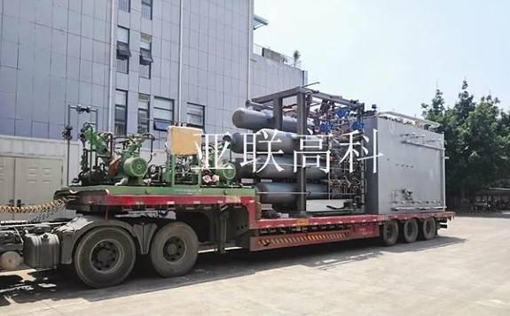 国内首套一体化天然气制氢装置开车调试成功!