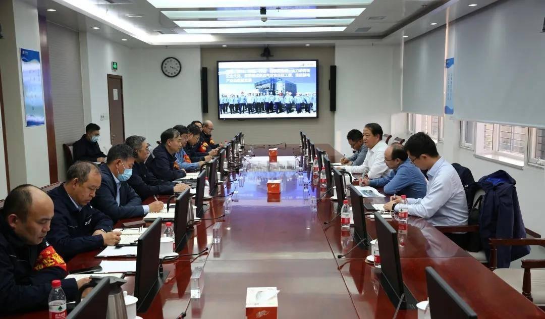 华能集团党组成员王文宗到石岛湾核电现场调研引导冷试工作