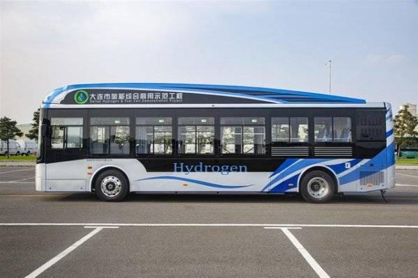 """""""海豚精灵""""氢燃料城市公交客车迎来首批订单"""