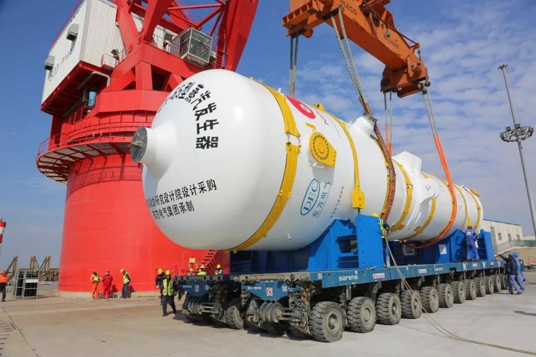 """东方电气研制的""""华龙一号""""核岛设备达到世界三代核电技术要求"""