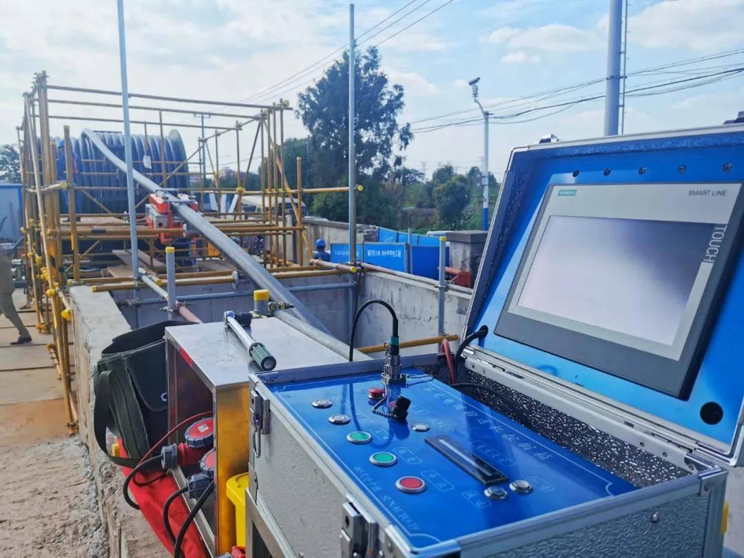 国内首条35千伏高温超导电缆试拉试验环节正式启动