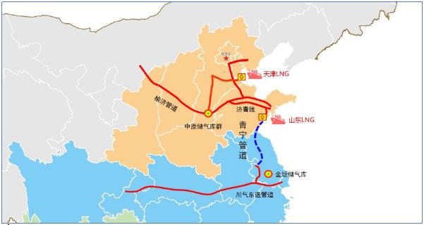 青宁天然气管道全线贯通,我国中东部又增一条南北天然气调配大通道