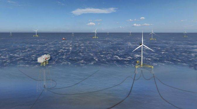 三星重工将为海上风力涡轮机开发浮式装置