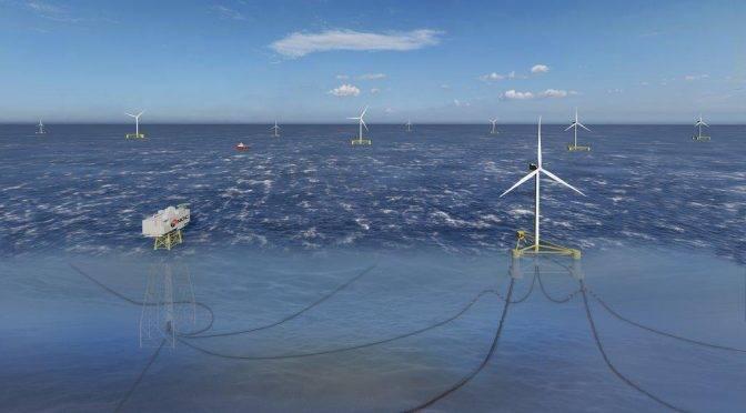 Ferrovial公司將在西班牙巴斯克地區建造安裝海上浮式風能平臺