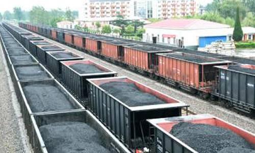 10月份国家铁路完成煤炭装车224万车、发送煤炭1.57亿吨