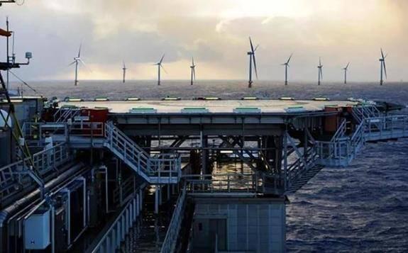 全球最大海上浮式风电场正式开工建设