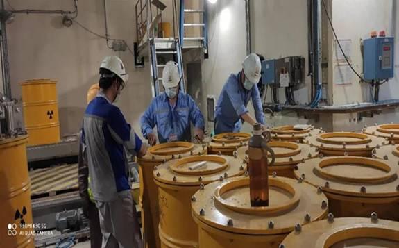 完全自主知识产权的固体废物处理系统水泥固化线正式具备生产条件!