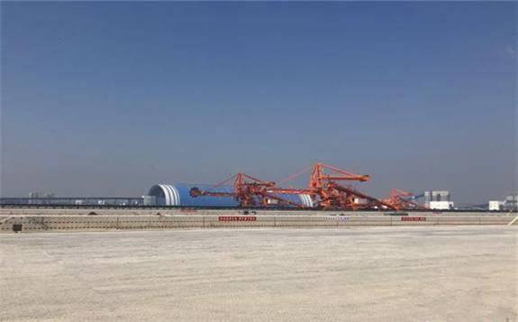 华中最大煤炭港口物流中心12月开港运营!