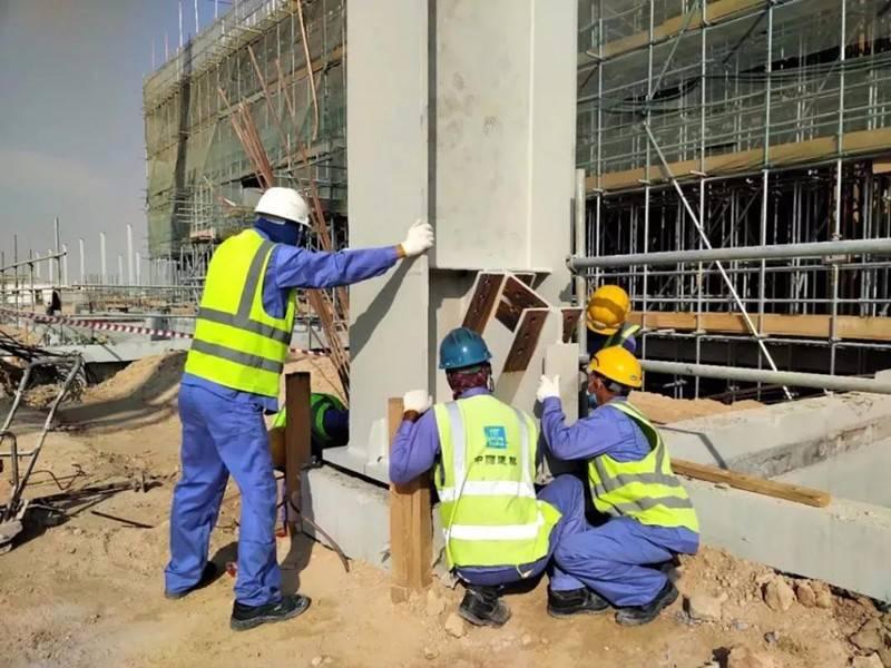 迪拜光热项目2号槽式机组主体设备安装正式开始