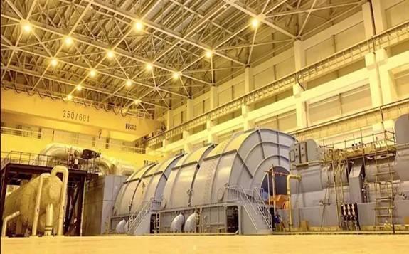 华龙一号全球首堆汽轮发电机首次核蒸汽冲转一次成功