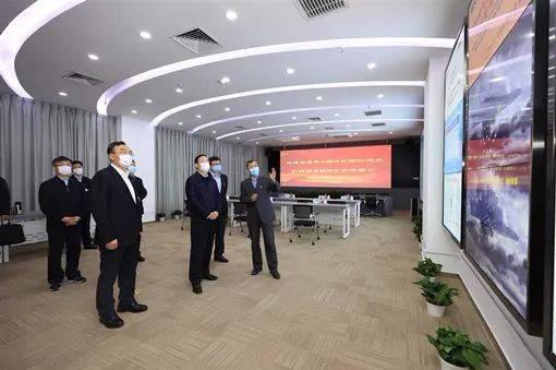国家电网总经理辛保安调研中国电力科学研究院