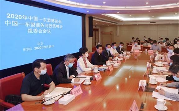 戴厚良参加第十七届中国—东盟博览会和中国—东盟商务与投资峰会开幕式