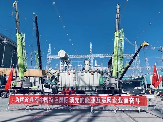 """""""青豫""""特高压工程海南站高端换流变转入调试验收阶段"""