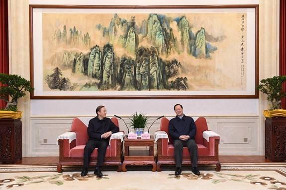 湖南省政府与国家电网在长沙座谈