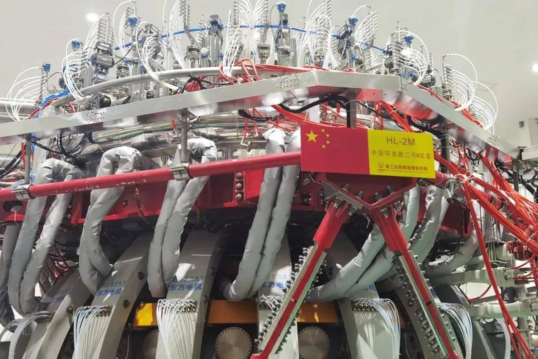 """东方电气集团助力核聚变事业发展,为该装置提供""""人造太阳""""核心部件"""