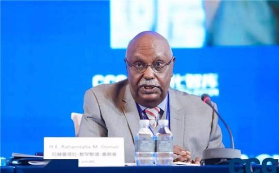 """非盟駐華代表:有必要在非洲大陸自由貿易區與""""一帶一路""""倡議之間形成合力"""
