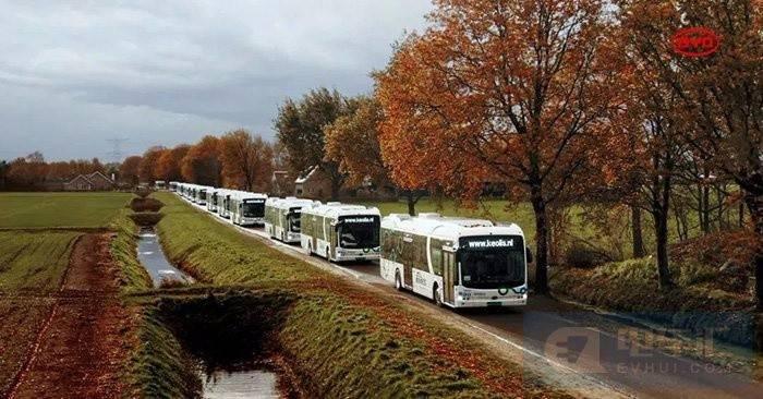 比亚迪向凯奥雷斯集团荷兰分公司交付259辆电动巴士