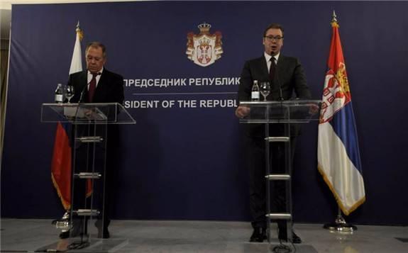"""美国要求塞尔维亚制裁俄""""土耳其溪""""天然气管道,塞尔维亚武契奇表示拒绝"""