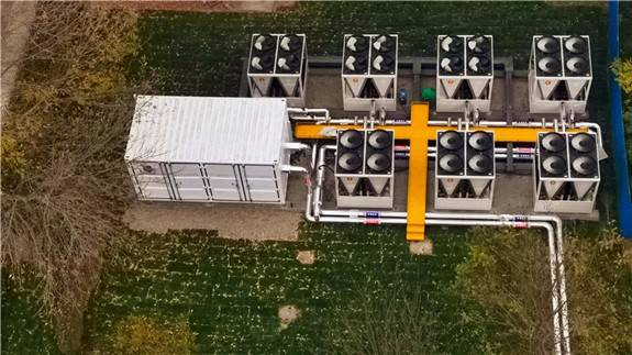 河北省首個以裝配式智慧能源站模式實現的供冷供熱項目投用