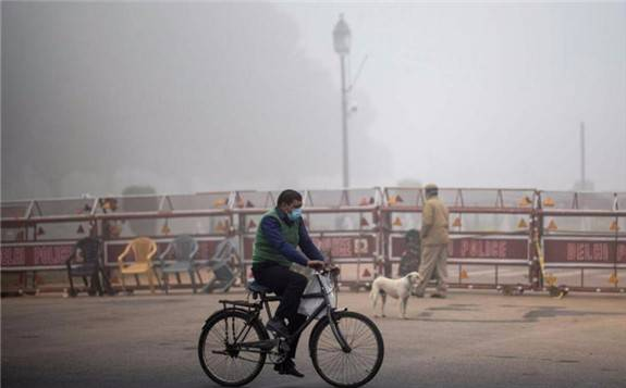 报告显示:印度空气污害死167万人,经济损失达368亿美元