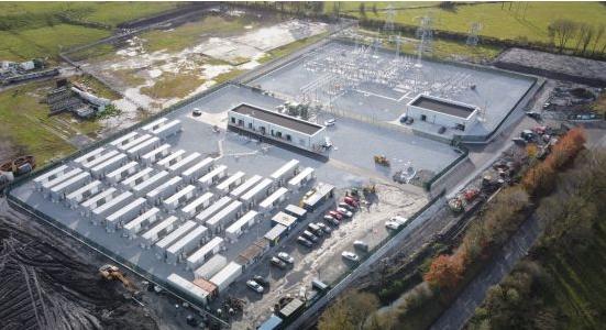 Lumcloon Energy公司与韩国韩华在爱尔兰投运100MW电池储能项目