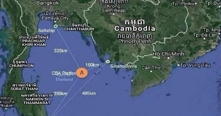 柬埔寨總理宣布開采出柬埔寨的第一滴石油!