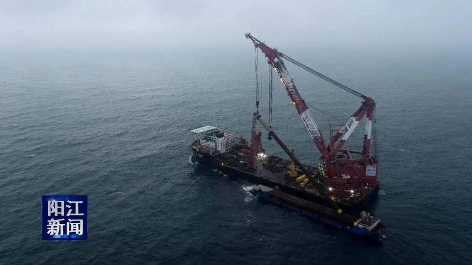 国内首个近海深水区风电项目在阳江全面开工