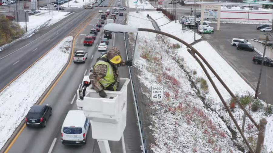 肯塔基州(Kentucky)启动节能LED公路照明项目