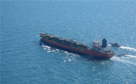 伊朗扣押韓國油輪 韓國防部派軍抵達霍爾木茲海峽附近