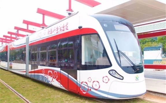 充电仅用30秒,超级电容有轨电车——广州黄埔区有轨电车1号线开通运营