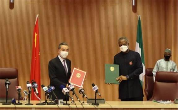 王毅:中非友好經受了風云考驗,歷久彌堅