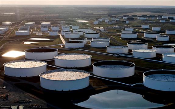 因沙特将减产且美国石油库存下降 油价略有上涨