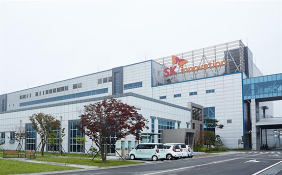 "SK Innovation获1万亿韩元""绿色信贷""用于建设在美国工厂"