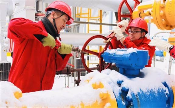 長慶油田冬供以來日均產氣1.42億立方米,較去年同期增加1800萬立方米