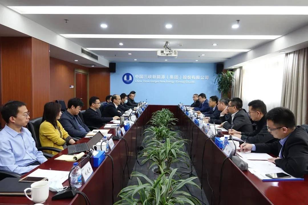 三峡新能源 & 金风科技高层会晤并达成重要共识
