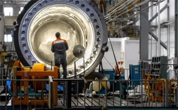 核电在俄罗斯能源结构中的占比20.28%