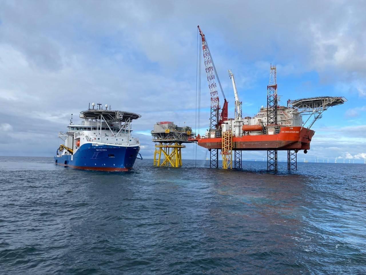 英国Moray海上风电项目首台9.5MW风机成功吊装