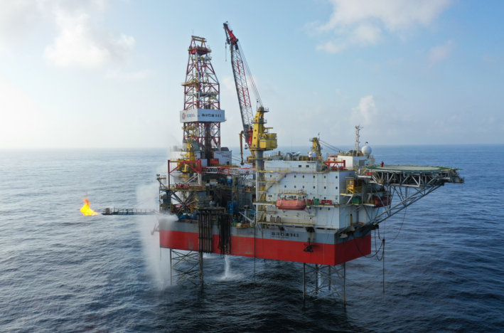 惠州油气田探明地质储量为5000万方油当量,我国珠江口盆地再获重大油气发现