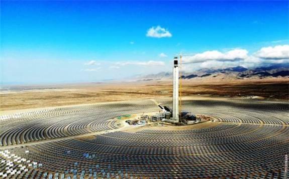 """中国""""聚宝盆""""柴达木地区实现白天全部清洁能源供电!"""