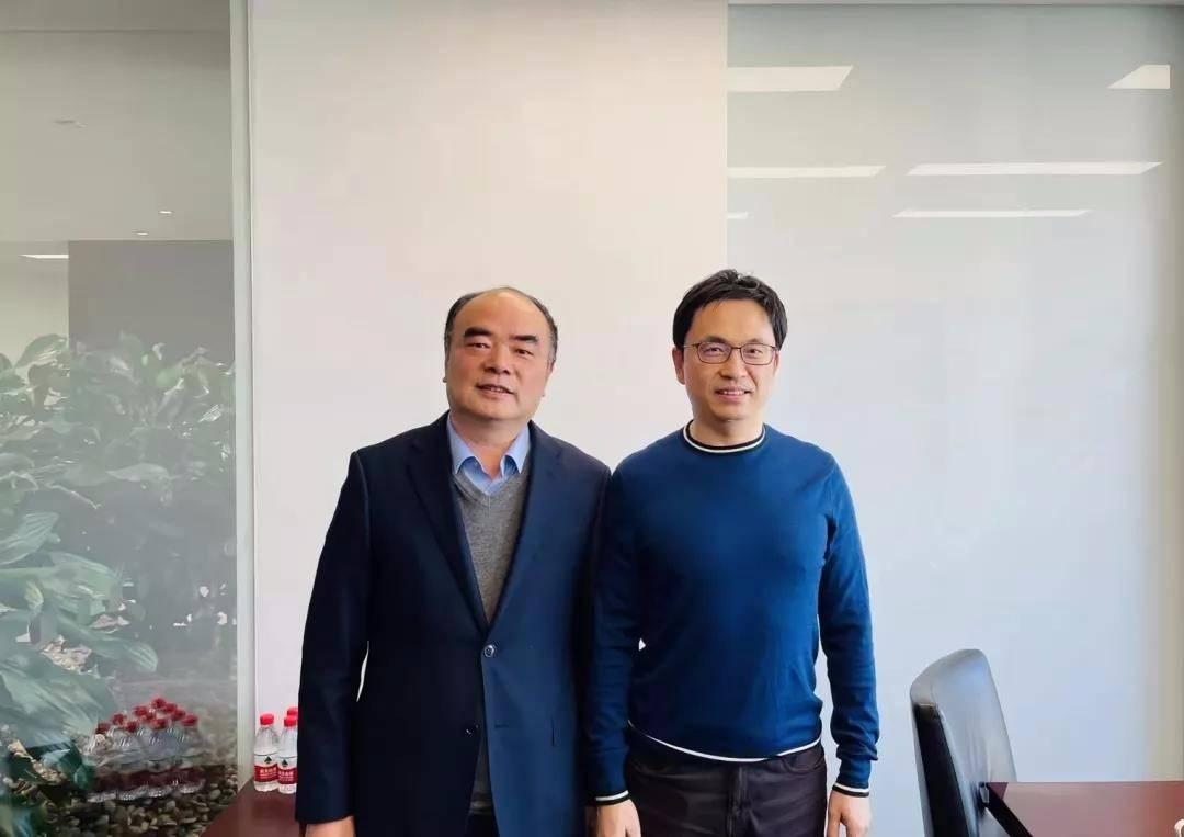 阳光电源董事长曹仁贤拜会高瓴资本创始人张磊